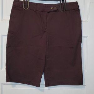 Worthington Brown Bermuda Shorts